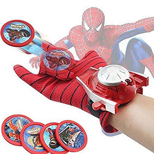 Vikas Gift Gallery BonZeaL Spiderman Disc Launcher Single Hand Glove for Boys
