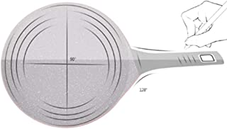 PPDDE Frying Pan, Nonstick Electric Pancakes Griddle, Precise Temperature Control for Roti, Tortilla, Eggs, BBQ