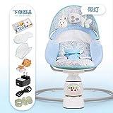 Mecedora para niños Wbdd 0 – 3 años de edad Baby Electric Cradle Chupete...