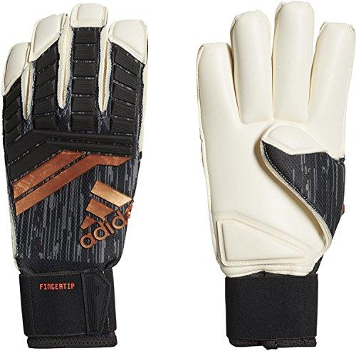 adidas ACE18 Fingertip Guantes de Portero, Unisex Adulto, Negro (Negro/Rojsol/copgol), 11.5