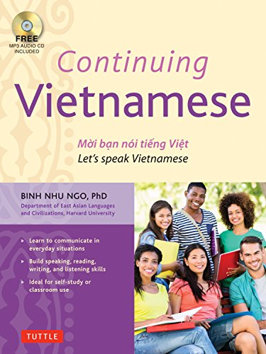 Compare Textbook Prices for Continuing Vietnamese: Let's Speak Vietnamese Audio CD-ROM Included Reprint Edition ISBN 9780804845335 by Ngo, Binh Nhu