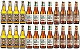 Sicilia Bedda - BIRRA DELLO STRETTO BOX DEGUSTAZIONE di Birra'NON FILTRATA' /'PREMIUM LAGER' /'CRUDA' - La Vera birra Siciliana - Box 24 Bottiglie da 33 Cl.