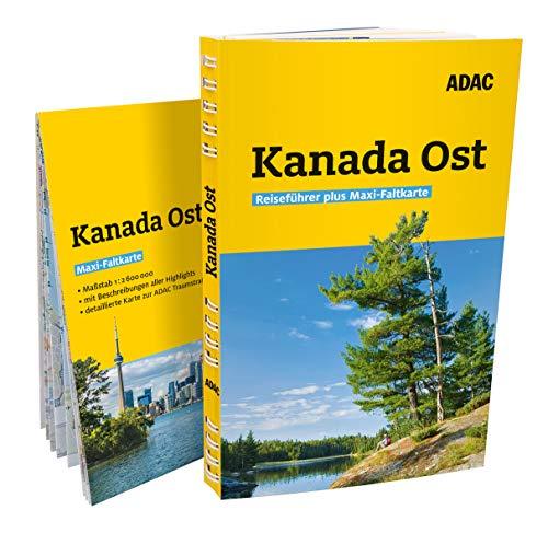 ADAC Reiseführer plus Kanada Ost: Mit Maxi-Faltkarte und praktischer Spiralbindung