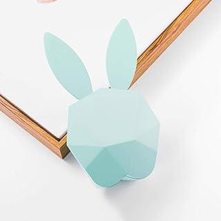 Yhhzw Usb Rabbit Alarm Clock Sensor Multifunción Led Night Light Kid Baby Bedroom Home Interior Mesita De Noche Decoración Lámpara De Regalo Tamaño 13 × 6 × 23Cm