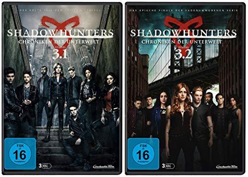 Shadowhunters - Chroniken der Unterwelt - Die komplette Staffel 3 (Staffel 3.1 + 3.2 im Set) (6 DVD)