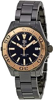 Watches Tag Heuer Women's Aquaracer Watch (Black)