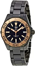 Tag Heuer Watches Tag Heuer Women's Aquaracer Watch (Black)