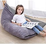 Convetu Kids Bean Bag Chair, 53 Inch Premium Large Stuffed Animal Storage Bean Bag, Playroom Toy Storage Bag for Toddler Adults