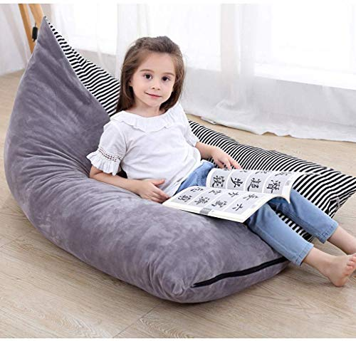 Convetu Kids Bean Bag Chair, 53 Inch Premium Large Stuffed Animal Storage Bean Bag, Playroom Toy...