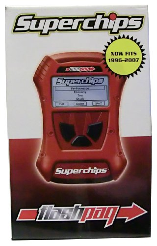 Superchips 2815 Flashpaq 1996-2007 GM Gas Trucks & SUVs 4.3L 4.8L 5.3L 6.0L 6.2L 7.4L 8.1L