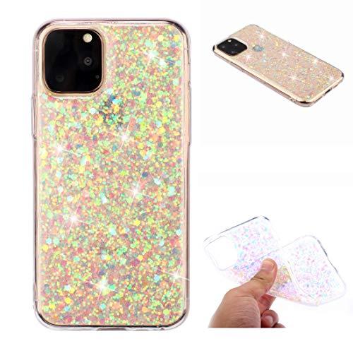 KIOKIOIPO-N Mode for iPhone XI 2019 (5,8 Zoll) Glitterpulver weicher TPU-Schutzhülle (Size : Eda00092001f)