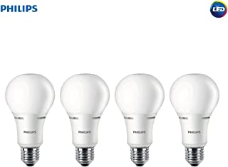 Philips LED 472423 50-100-150 Watt Equivalent 3-Way Frosted A21 Energy Star Certified LED Light Bulb (4 Pack), 4-Pack, Soft White, 4 Piece
