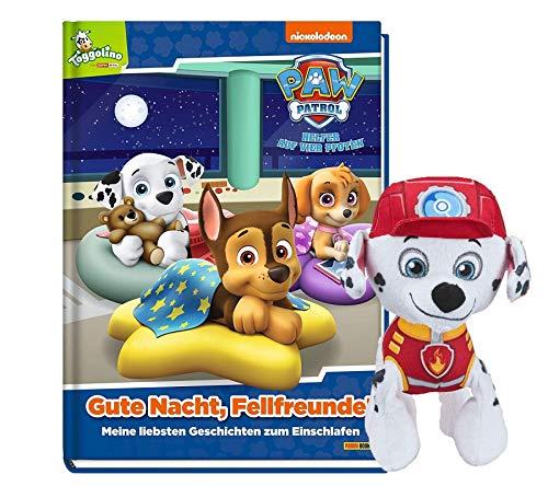 Buchspielbox Paw Patrol: Buona notte, amici del pelo! La mia storia, per addormentarsi + 1 peluche PAW Patrol