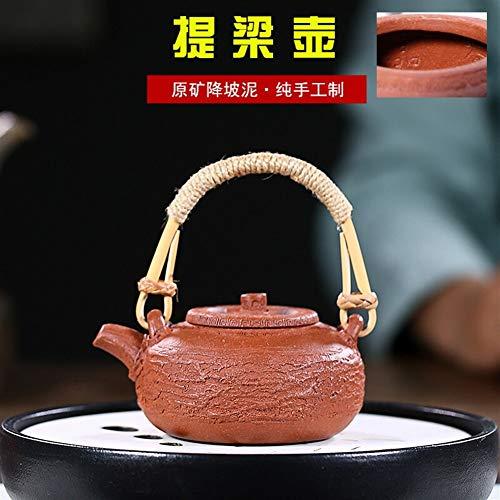 WANGZHI - Tetera de barro puro para té Barro morado