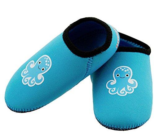 Imse Vimse Water Shoes Baby-Badeschuhe Aqua Socks Neopren Tuerkis Turquoise (6-12 Monate)