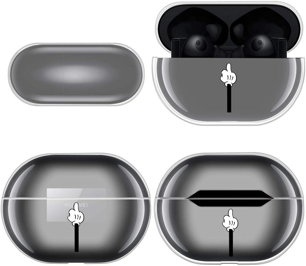 suave Reshias antipolvo y antica/ídas para caja de protecci/ón transparente Carcasa para Huawei FreeBuds Pro carcasa de protecci/ón de TPU