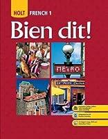 Bien Dit: French 1 (Bien Dit!)