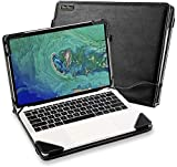 Funda Carcasa para Acer Swift 5 SF514-51/52/53 14 PORTÁTIL PU Cuero Tapa PORTÁTIL PC Bolsa Soporte Protector Piel(SF514-54 no es compatible)