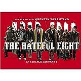 Poster The Hateful Eight Poster Film Wandaufkleber Retro