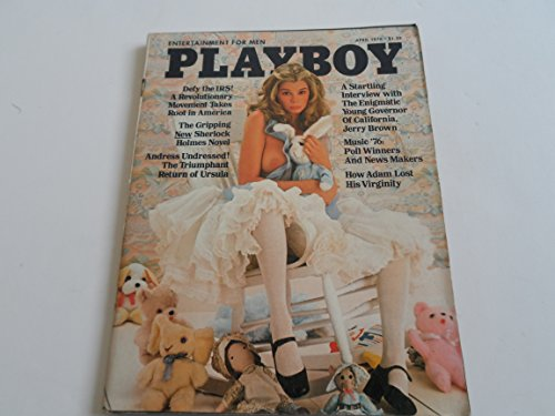 April 1976 Playboy Jerry Brown - Ursula Andress - History of Assassination - Vargas Girl Pictorial