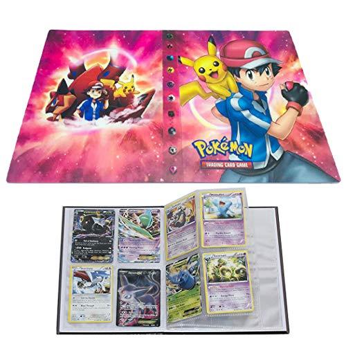 Sammelkarten-Album für Pokémon, GX EX Box (Red Ash)