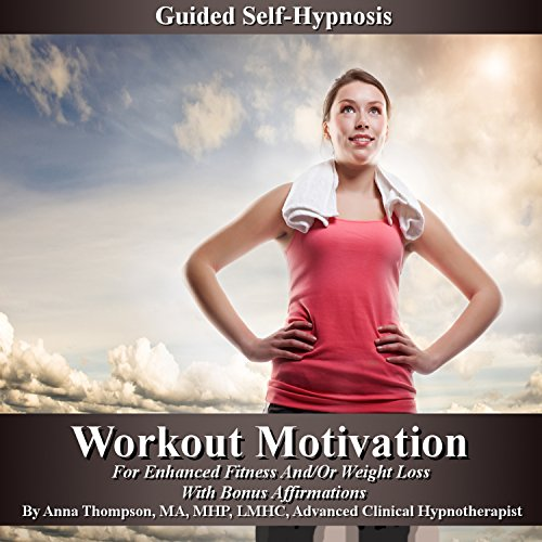 Workout Motivation Guided Self-Hypnosis audiobook cover art