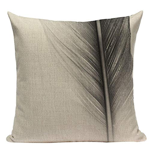 Almohada de Almohada de Estilo Simple Almohadas Decorativas geométricas para sofá Casas Casas Black White Woven Woven Funda de Almohada-Q_2pc
