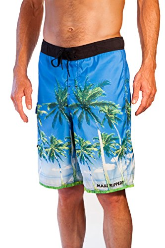 Maui Rippers Hawaiian Palms Board Short (32)