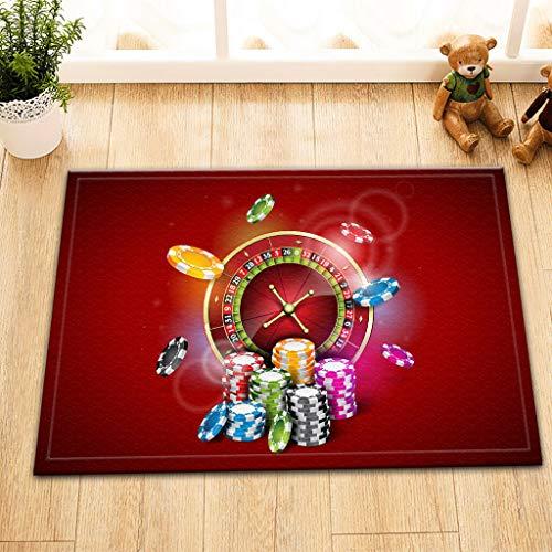 Comptoir de Casino Ante Decoration Tapis de Bain Doux écologique et Portable