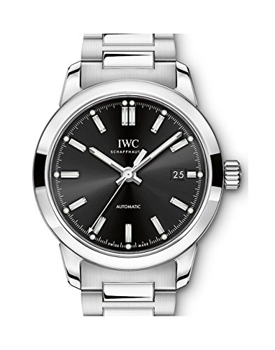 IWC Ingenieur automatico quadrante nero Mens Watch IW357002