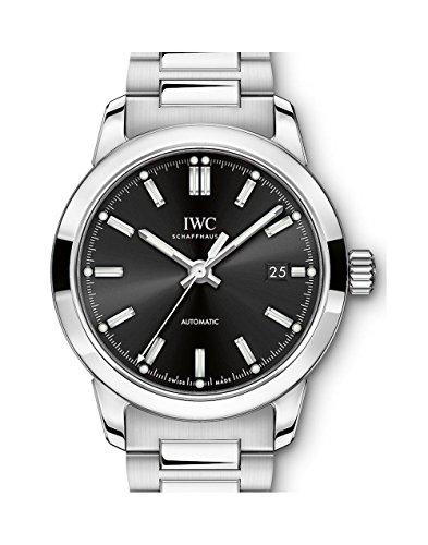 Iwc Ingenieur automatico nero quadrante mens orologio IW357002