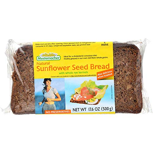 Mestemacher Bread Bread - Sunflower Seed - 17.6 oz - 1 each (Pack of 3)