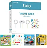 toio ( トイオ ) バリューパック + トイオ・ドライブ + 工作生物 ゲズンロイド + GoGo ロボットプログラミング + トイオ・コレクション 拡張パック セット