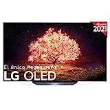 LG OLED OLED77B1-ALEXA 2021-Smart TV 4K UHD 195 cm (77') con Inteligencia Artificial, Procesador Inteligente α7 Gen4, Deep Learning, 100% HDR, Dolby ATMOS, HDMI 2.1, USB 2.0, Bluetooth 5.0, WiFi