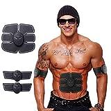 Bria Ab estimulador muscular Toner recargable entrenador muscular Ultimate para hombres mujeres abdominales ejercicio físico abdominales entrenamiento muscular 0106