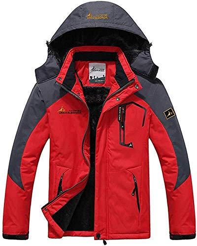 Hcxbb-10 outdoor regenjas Alpinisme kleding meer fluweel Welke regenjas winddicht softshell Mountain heren jas geschikt voor snowboard camping walking