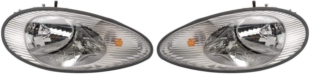 For 1994-1995 Ford Thunderbird Head and Lights P Assembly Driver 通信販売 店内全品対象