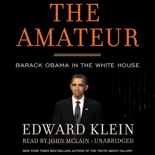 The Amateur audiobook cover art