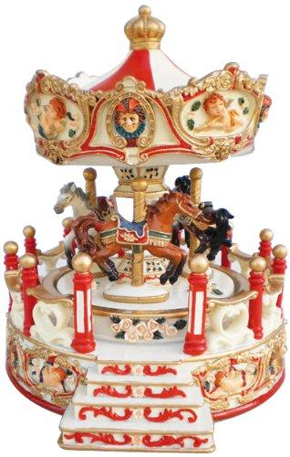 Spieluhrenwelt 14198 - Tiovivo Giratorio Musical