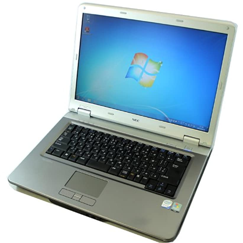 殉教者証明キャラクターNEC VersaPro VY25A/E-6 PC-VY25AEZ76【Core2Duo/4GB/80GB/DVDマルチ/15.4型液晶/Windows7】【中古】