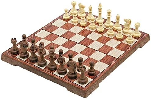 QIFFIY Chess Set Gift Magnetic Travel Board Tournament Gorgeous Max 40% OFF Portable