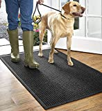 Orvis Grid Recycled Water Trapper Mat/Only 2'11' X 4'11', Charcoal,