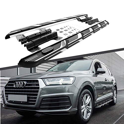 Titopena 5.5' Side Steps Fit Audi Q7 2016-2021 Running Board Nerf Bar