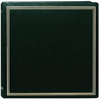 Large Magnetic Page X-Pando Photo Album,Hunter Green