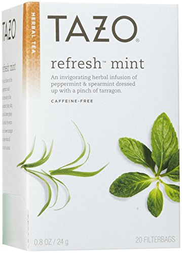 Tazo Refresh Mint Herbal Tea, 20 ct