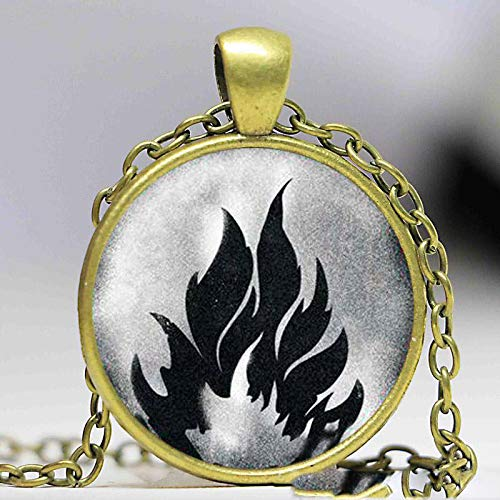 Divergente Jewelry, collar de amor erudita amidad desalentada abnegación collar y colgantes