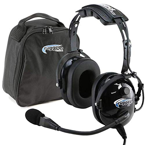 Rugged Air RA200 General Aviation Pilot Headset Features...