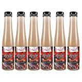 Salsa Mostagre de 350 ml - Especial Barbacoa - Elaborado en Cadiz - El Majuelo (Pack de 6 botellas)