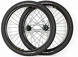 27.5 inch Mavic / Shimano Mountain Bike ATB Wheels Disc Brake Black Wheel Set With Continental Race King Tires and Tubes!