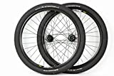 27.5 inch Mavic/Shimano Mountain Bike ATB Wheels Disc Brake Black Wheel Set with Continental Race King Tires and Tubes!
